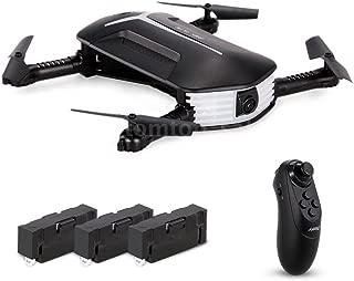 Hot Sales Memela(TM)JJRC H37 BABY ELFIE Selfie Drone Toy Wifi FPV 720P HD Camera Foldable G-sensor Quadcopter with 3 Battery