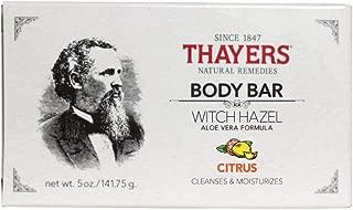 Thayers - Body Bar Soap with Witch Hazel and Aloe Vera Citrus - 5 oz.