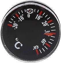 cuigu Celsius Termómetro, plástico circular thermograph–Medidor de temperatura para exterior Indoor, diámetro: 20mm