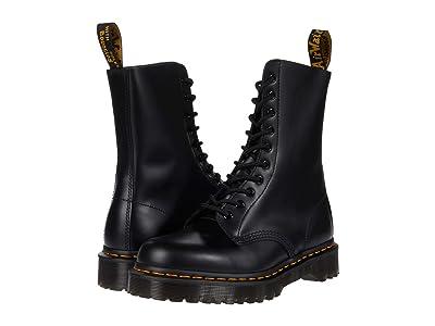 Dr. Martens 1490 Bex (Black Smooth) Shoes