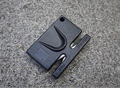 Knife Sharpeners Portable Mini Knife Sharpener Pocket Ceramic Sharpener Grindstone Utility Tool Outdoor kit Camp Tactical Gadget Kitchen Blade