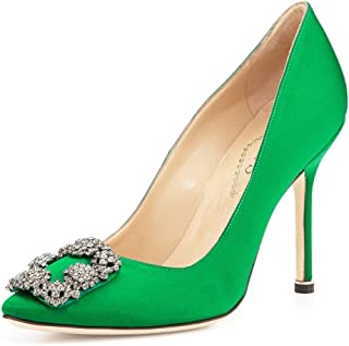 632649bf2ca9a Amazon.com: 11.5 - Green / Pumps / Shoes: Clothing, Shoes & Jewelry