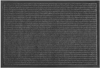 Front Doormat Non-Slip Rubber Door Mat Home/Commercial Corridor Convex Design Dust Removal Foot Pad Water Absorption Decor...