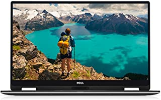 Dell XPS 13 9365 33.8 厘米(13.3 英寸 QHD+)可转换?#22987;?#26412;电脑(英特尔酷睿 i7-7Y75,1TB 硬盘,英特尔高清显卡 615,触摸屏,Win 10 家庭版 64 位德国)银色