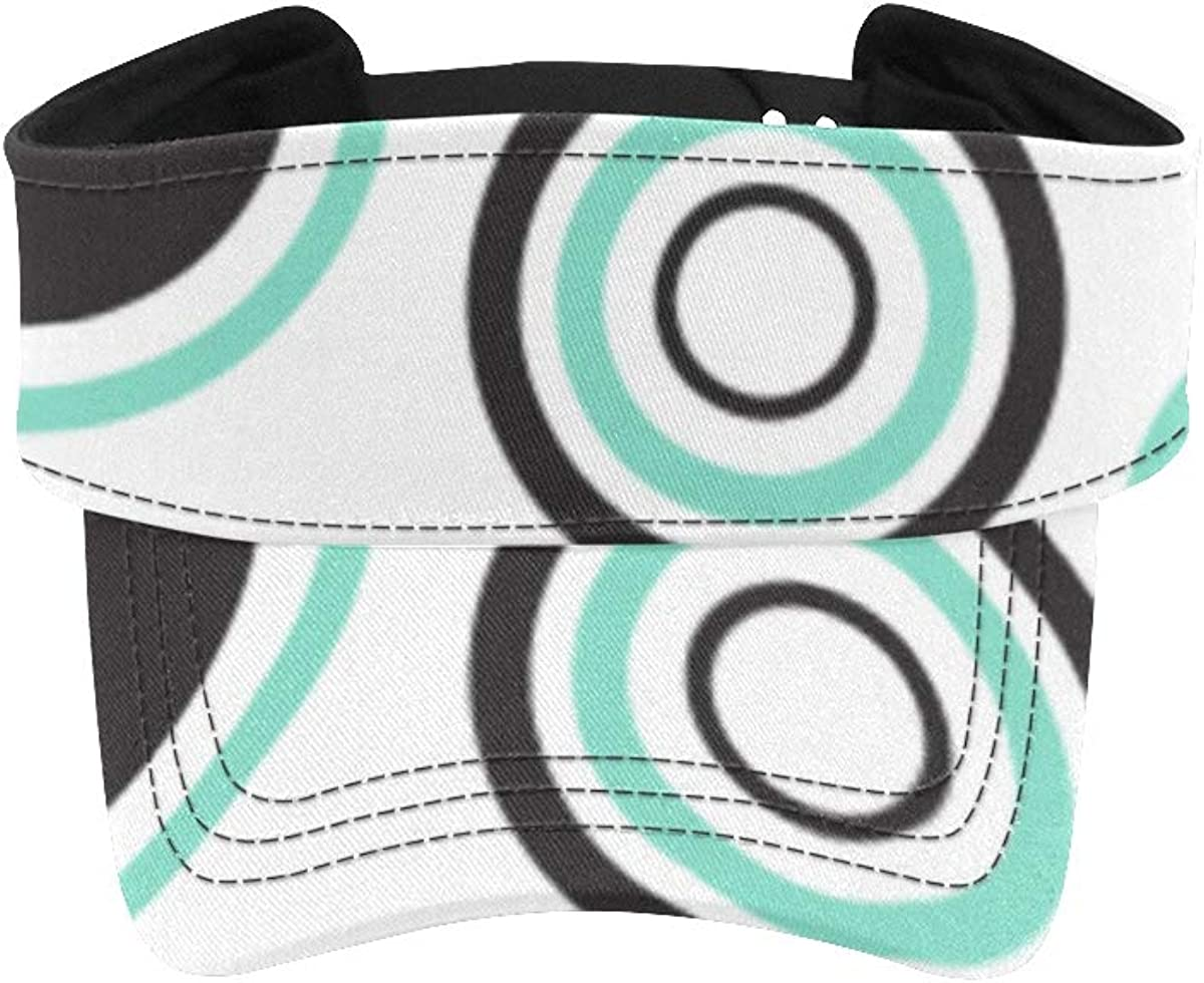 Men's Sun Max 79% OFF Visor Large discharge sale Hat Circles Women Hats Ladies Running