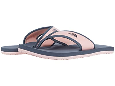 The North Face Kids Base Camp Flip-Flop (Toddler/Little Kid/Big Kid) (Zinc Grey/Impatiens Pink) Girls Shoes