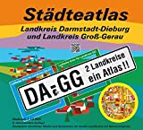 Städteatlas Landkreis Darmstadt-Dieburg und Landkreis Groß-Gerau: DA-GG. 2 Landkreise ein Atlas. 1:13000