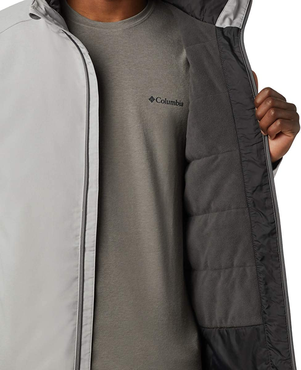 Columbia Mens Gate Racer Softshell Jacket Insulated