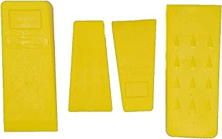 TIPU 4-Pack Felling Wedge, Logging Supplies for Chain Saw, 5.5