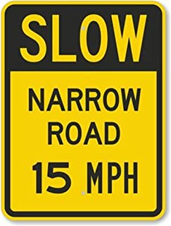 Best road narrows sign Reviews