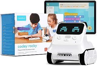 ربات قابل برنامه ریزی Makeblock Codey Rocky ، هدایای اسباب بازی های سرگرم کننده برای یادگیری AI ، Python ، کنترل از راه دور ، در دسترس برای ویندوز ، Mac OS ، Chromebook ، iOS و Android ، STEM آموزش.