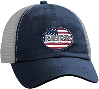 American Logo Mesh Hat by Fripp Outdoors