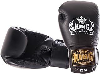 """Top King """" Super Air """"タイ式ボクシンググローブ–tkbgsa-222–ブラック"""