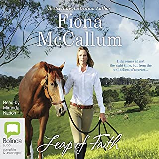 Leap of Faith                   By:                                                                                                                                 Fiona McCallum                               Narrated by:                                                                                                                                 Miranda Nation                      Length: 9 hrs and 29 mins     12 ratings     Overall 4.9