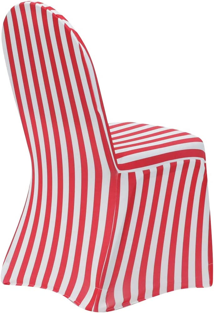 New product type Your Chair Covers - Brand Cheap Sale Venue 6 Spandex Pack Striped Stretch