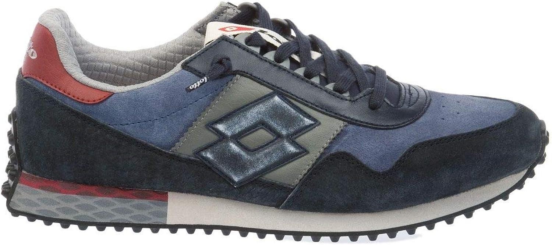 Lotto herrar T0856NAVYDK blå  svart Leather skor skor skor  kundens första rykte först