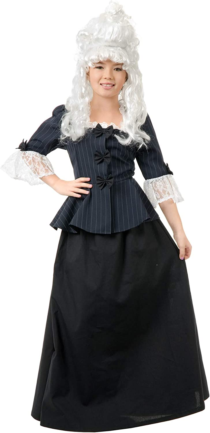 Charades Memphis Mall Child's Colonial Girl Dress X-Small Max 84% OFF Costume