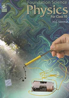 Foundation Science Physics for Class 10 by H.C. Verma - Paperback