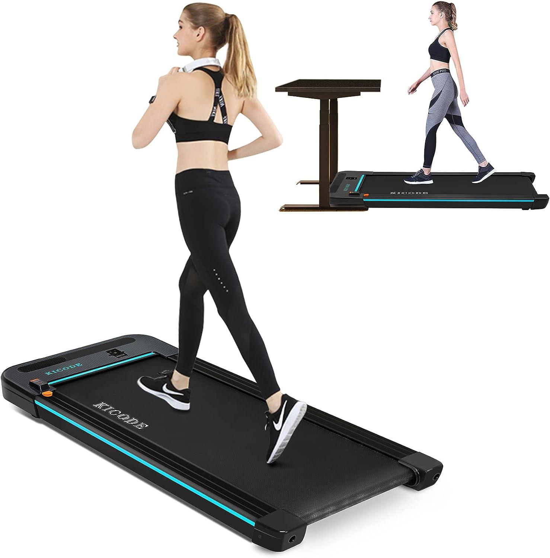 Kicode Under Desk Quality inspection Electric Excellent Walkin Portable Treadmill