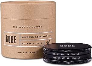 Gobe Filter Kit 52mm MRC 12-Layer: UV + CPL Polarizer