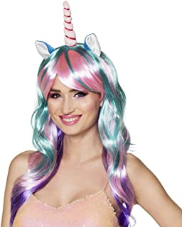Boland 85818 Perruque licorne avec corne pour femme, taille unique