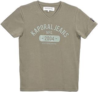 01346a07d137b Kaporal T-Shirt Garçon Rudy Electrique
