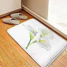 Living Room Carpets Bathroom WC Home Decor Rug Bedroom Floor Mats,Bouquet Calla Lily Wedding Invitations,Door Mat Indoor Rugs