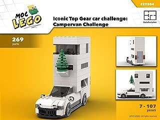 Iconic car challenge: Campervan Challenge (Instruction Only): MOC LEGO