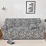 WXQY Funda de sofá con diseño de Flor de melocotón, Funda de sofá elástica para Sala de Estar, Funda de sofá, Funda de sofá con Todo Incluido, Funda de sofá A27 de 3 plazas