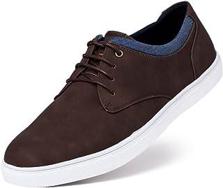 Jivana Men's Sneaker Flat Casual Shoes Black/Brown