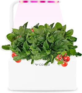 Indoor Herb Garden Kit with LED Spectrum Hydroponic Herb Garden Kit Garden Planter in Home Smart Windowsill Herbs Veggies Planter