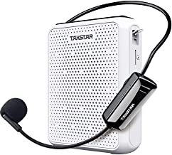 TAKSTAR Hands-free loudspeaker speaker Portable 10W high output LED display UHF wireless transmission support TF card Trai...