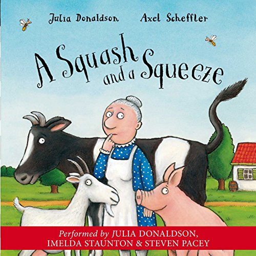 A Squash and a Squeeze audiobook cover art
