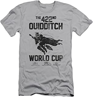 HARRY POTTER Trevco World Cup Mens Slim Fit Shirt