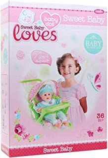 Basmah Sweet Baby Stroller for Girls