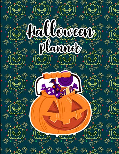 Halloween Planner: Wicked Fun Guest Book For Gothic, Spooky, Scary and Creepy Themed Parties, Showers, Weddings, Halloween, and more! (Spooky Party Book)