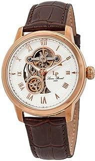 Men's LP-12524-RG-02-BRW Optima Analog Display Automatic Self Wind Brown Watch