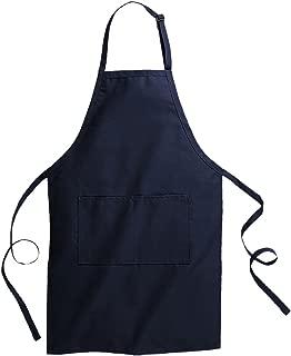 Edwards Garment Butcher Apron Two Piece Slide Adjustment, NAVY, One Size