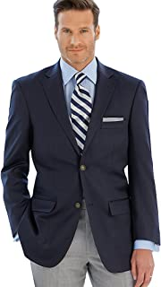 Paul Fredrick Men's Pure Wool Travel Blazer