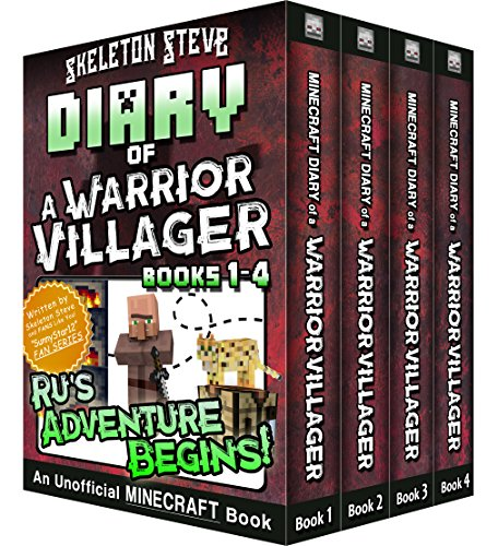 Diary of a Minecraft Warrior Villager - Box Set 1 - Ru's Adventure Begins (Books 1-4): Unofficial Minecraft Books for Kids, Teens, & Nerds - Adventure Fan Fiction Diary Series