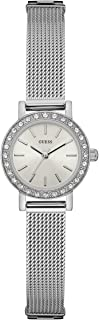Women's Stainless Steel Crystal Mesh Bracelet Watch