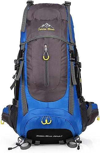 Suyifan Sac à Dos de randonnée pour Sac à Dos pour randonnées alpines en Plein air, Grande capacité de Charge USB