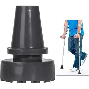 Walking Stick Cane Crutch Rubber Pad Heavy Duty Ferrule End Bottom 19mm KV