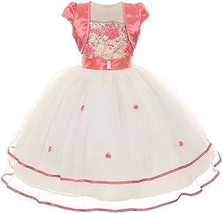 277754895b40 Amazon.com  coral flower girl dress - SophiasStyle   Dresses ...