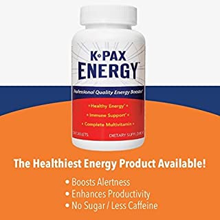 Physician Formulated K-PAX Energy - High Potency Mitochondrial Nutrients - Immune Boosting Energy Multivitamin - 120 Tablets