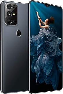 "HJFGIRL Telefon komórkowy S20 smartfon SIM bezpłatny telefon Android 7,0"" HD + krople wody pełny ekran 5800 mAh bateria 13..."