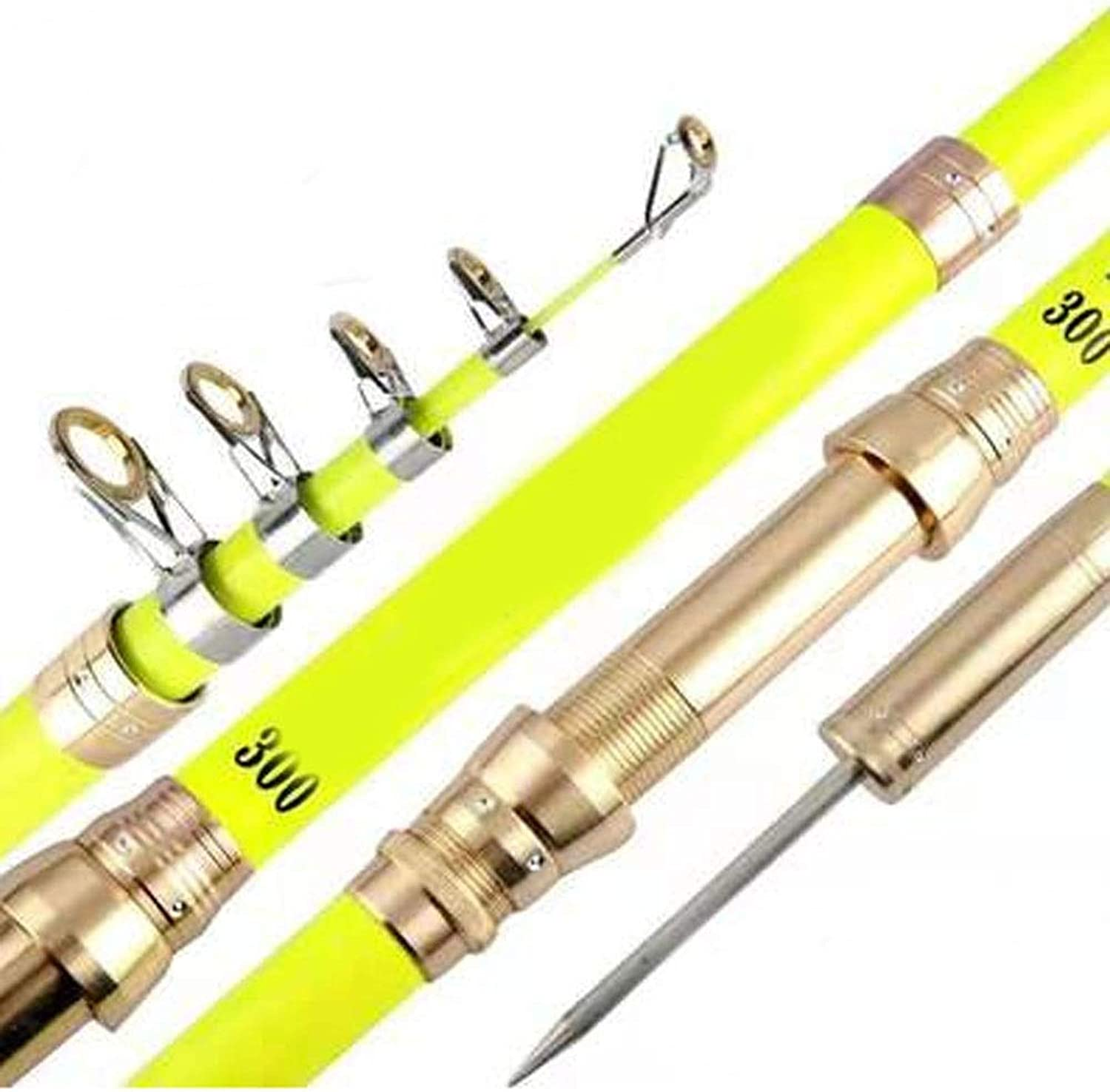 Fishing Rod,Fly Fishing Rod,Suitable for Outdoor Fishing,Smooth Ceramic Guide Ring,can be not Easily Faded for a Long time (Size   2.1m(Super Hard))