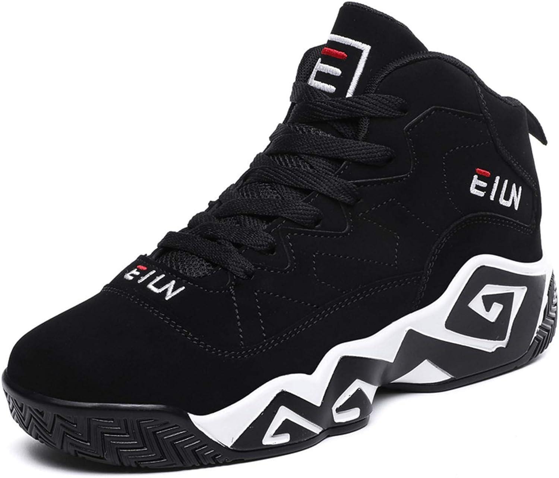 Mens High Top Basketball Shoes Popular standard Slip Non Denver Mall Breathable Outdoor Snea