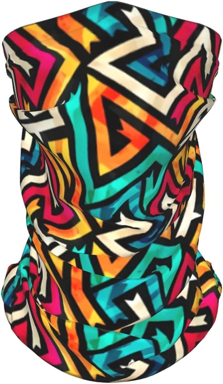 Music Maze Pattern Neck Gaiter Multipurpose Headwear Ice Silk Mask Scarf Summer Cool Breathable Outdoor Sport 2 Pcs