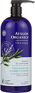 Sponsored Ad - Avalon Organics Therapy Thickening Conditioner, Biotin B-Complex, 32 Oz
